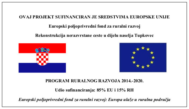 Nerazvrstana cesta Tupkovec
