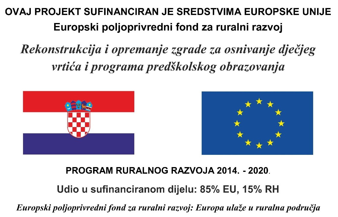 Rekonstrukcija vrtić